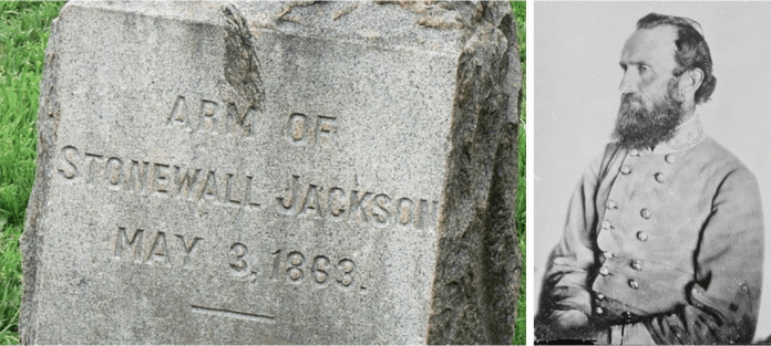 Stonewall Jackson's Arm's grave Great-great grandsons of Stonewall Jackson: Monuments must go Great-great grandsons of Stonewall Jackson: Monuments must go screen 20shot 202015 09 01 20at 20115621 20am