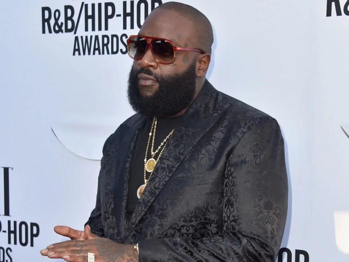 'I'm a Boss' rapper Rick Ross tags No. 16. The 39-year-old rapper released his project 'Hood Billionaire' in 2014 and welcomed another $9 million into his wallet over the past year.