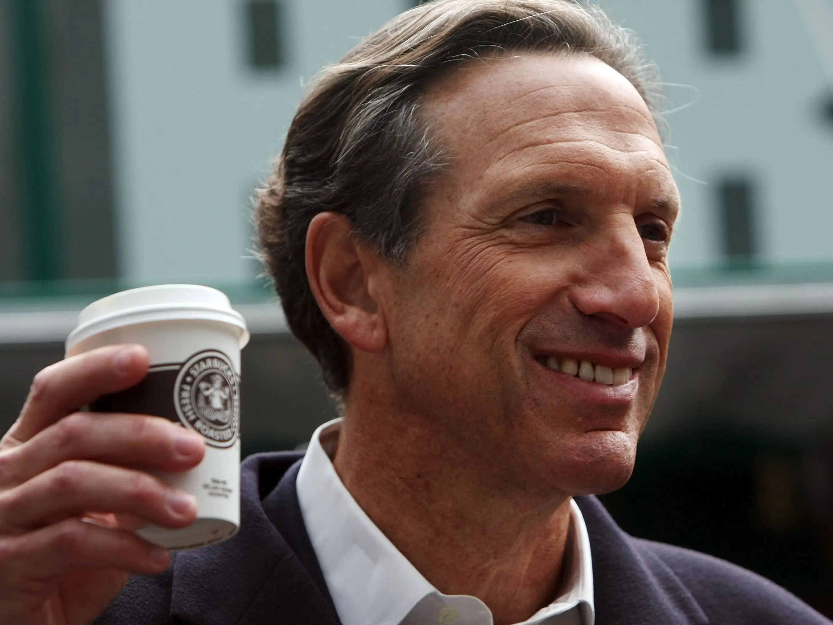 Howard Schultz grew up in the Brooklyn projects before becoming CEO of Starbucks.