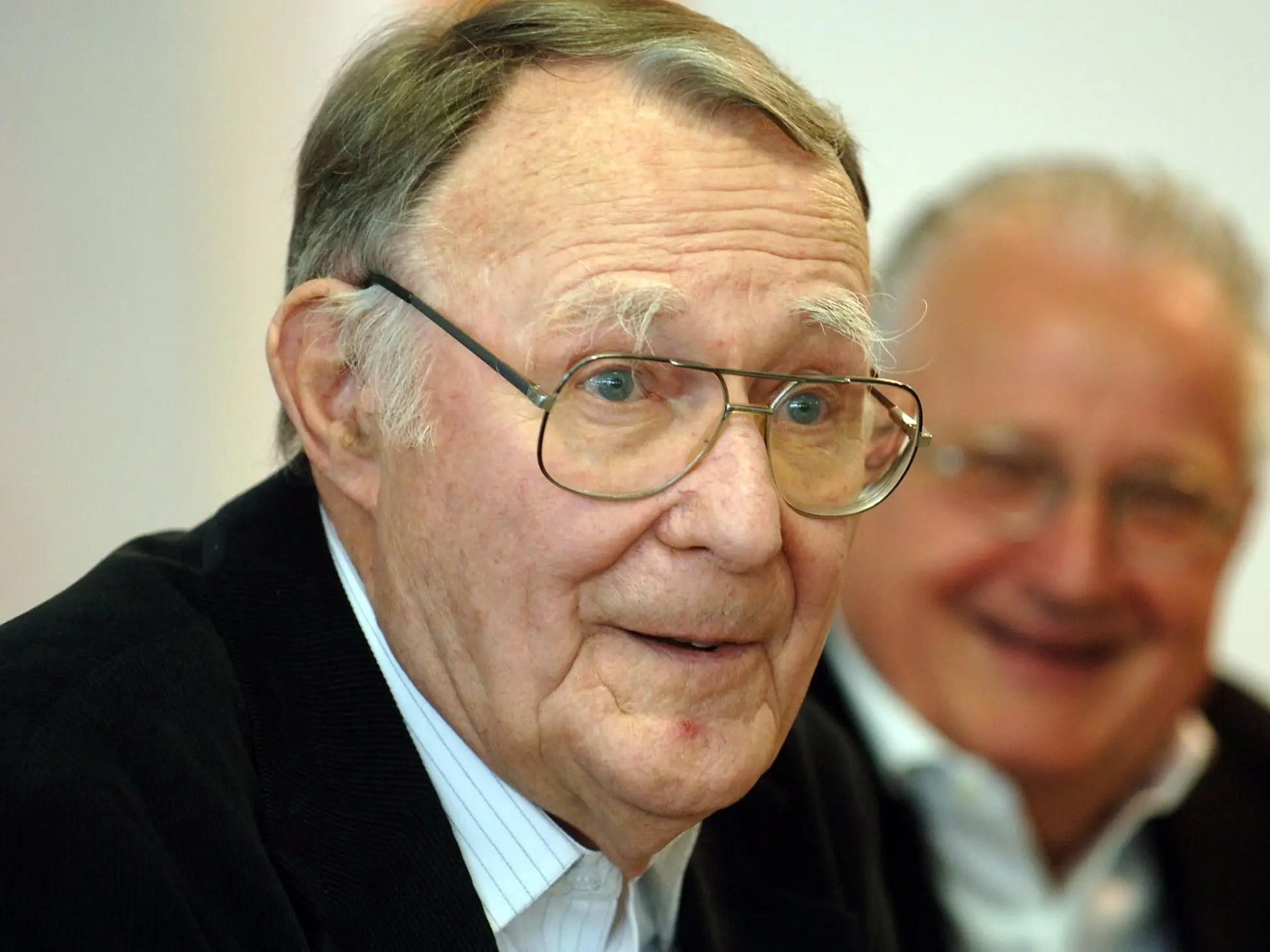 Ingvar Kamprad was born in a small village in Sweden and created a mail-order business that became IKEA.
