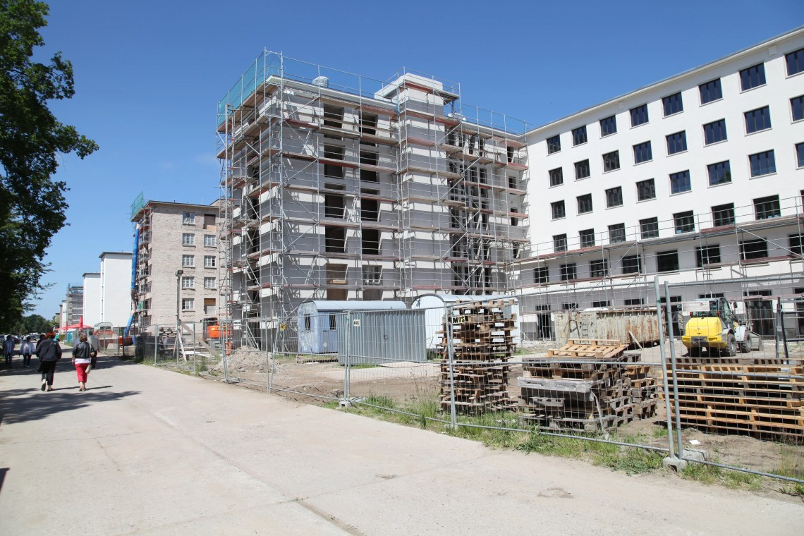 The new homes will take up several of the structure's eight blocks, split between the Prora Solitaire Home and Prora Solitaire Hotel Apartments and Spa.