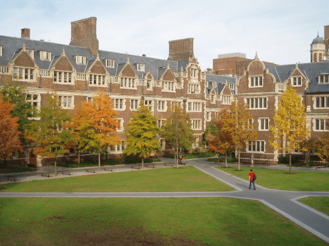 39. University of Pennsylvania — Cofounded by Benjamin Franklin, the University of Pennsylvania achieved a QS ranking of 77.9 for its computer science and information systems courses.