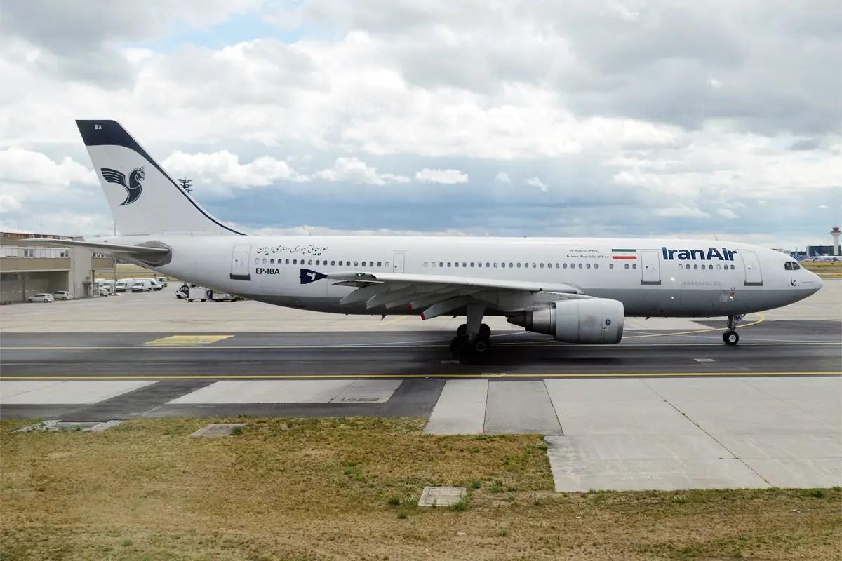 Airbus A300B4 de Iran Air