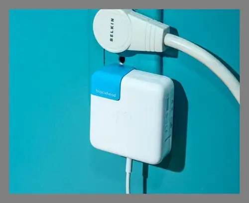 A MacBook charger accessory