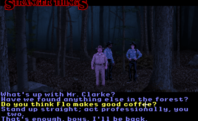 Stranger Things Video Game From Infamous Quests Photos