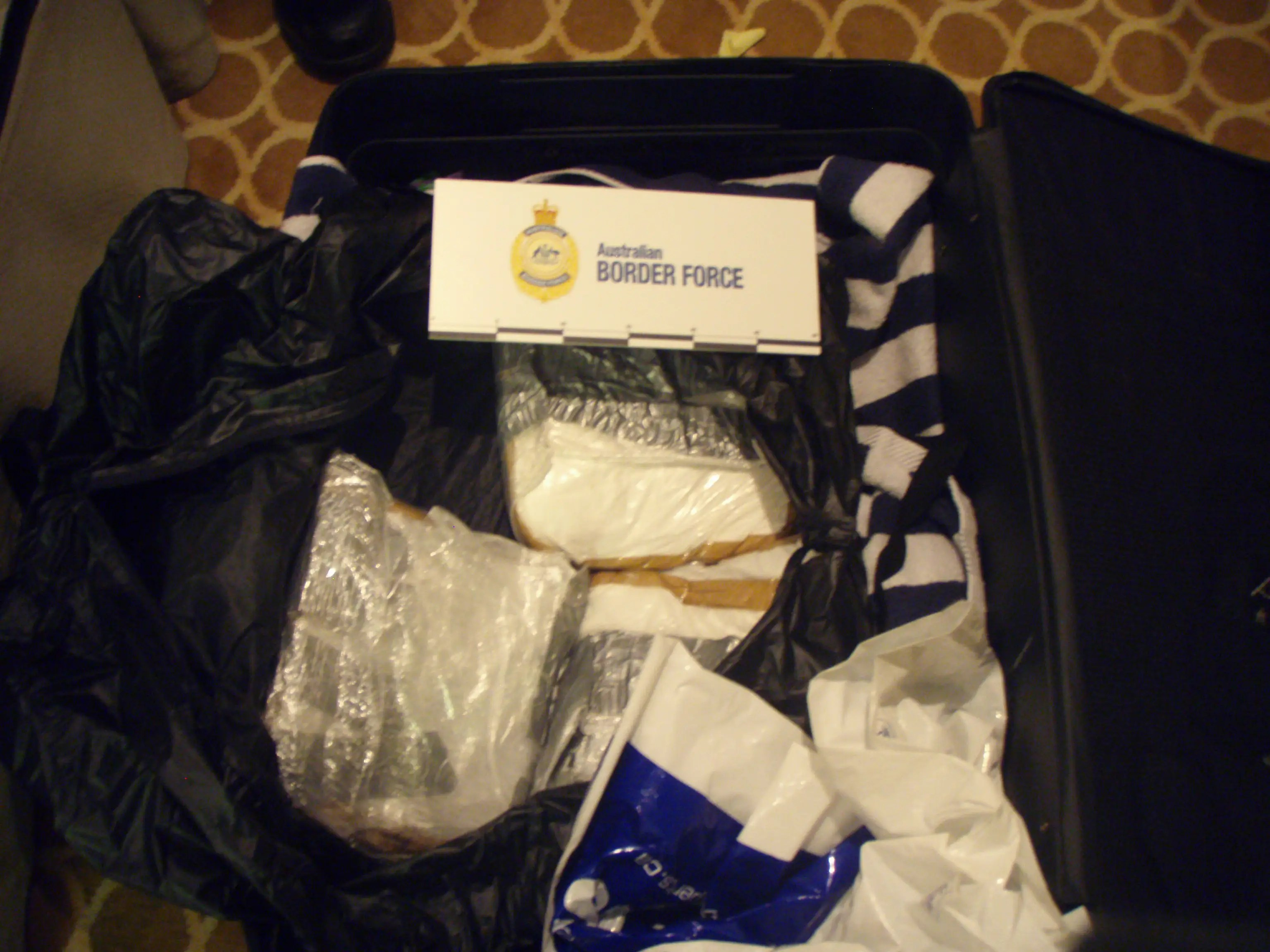 Cocaine seized in Australia aboard a cruise ship