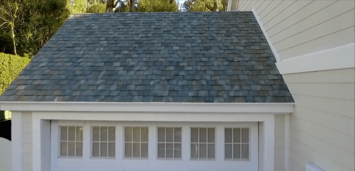"""""""The production process itself makes each tile specially unique, it's sort of a special snowflake tile,"""" Musk said at the solar roof unveiling."""