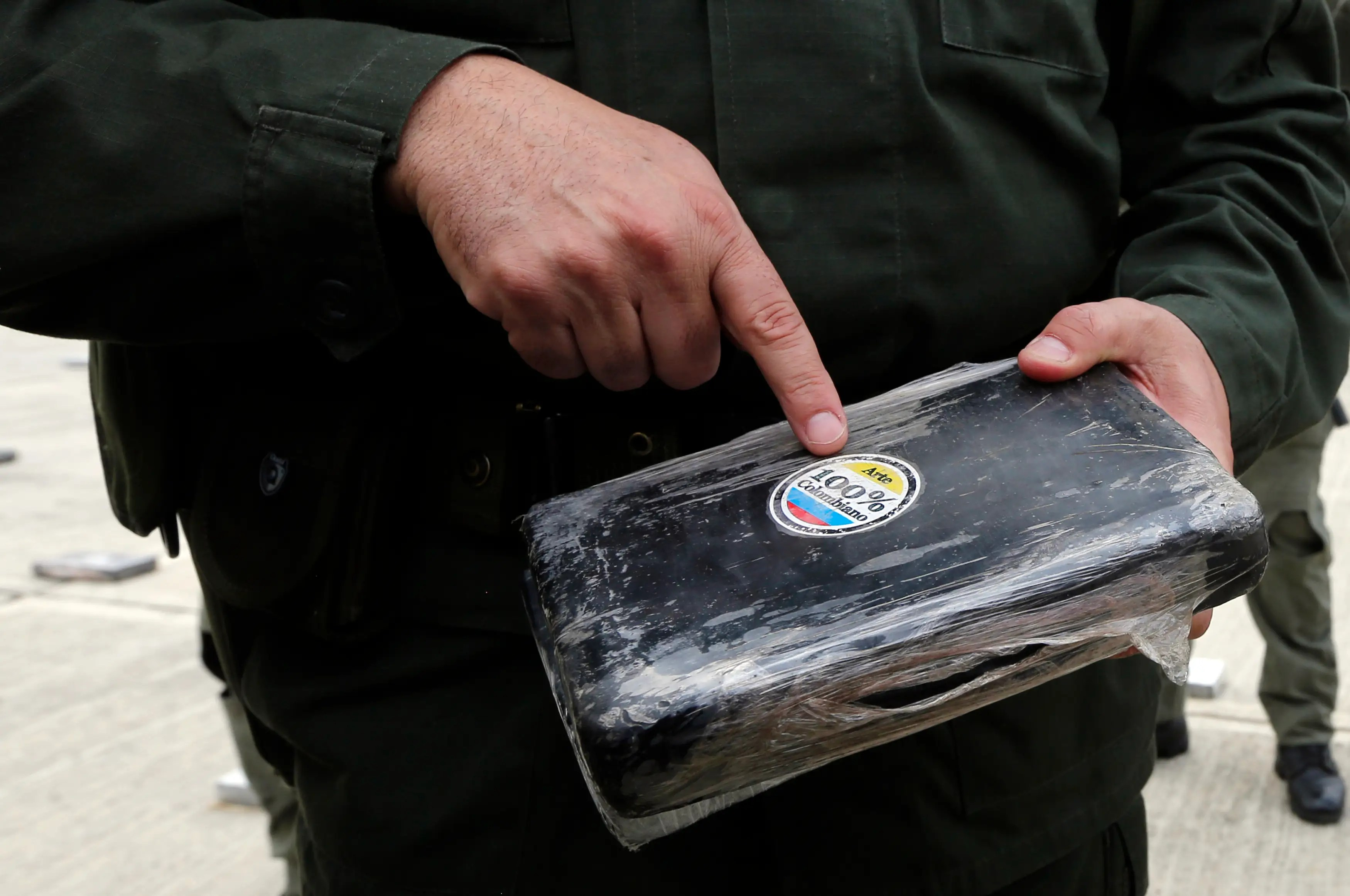 Colombia cocaine Antioquia smuggling trafficking drugs