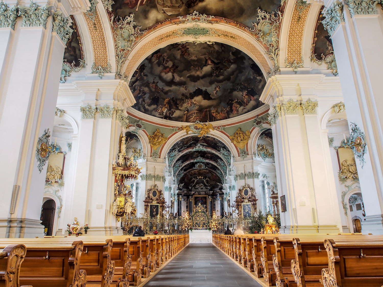 Another impressive, must-see historical site is the Abbey of St. Gall in the city of St. Gallen. The cathedral dates back to the 8th century, and has been in operation for 12 centuries.