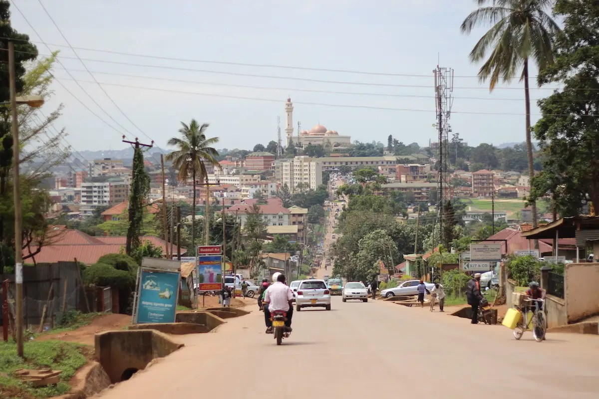 25. Uganda — GDP per capita: £2,066 (£1,685)