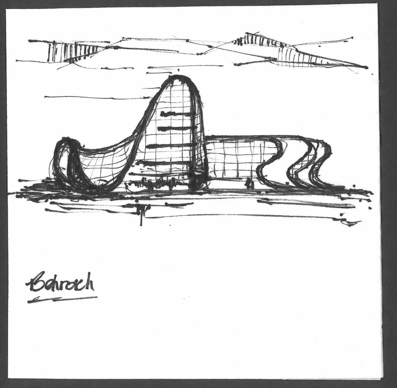 Architects Sketch On Napkins Hlw International