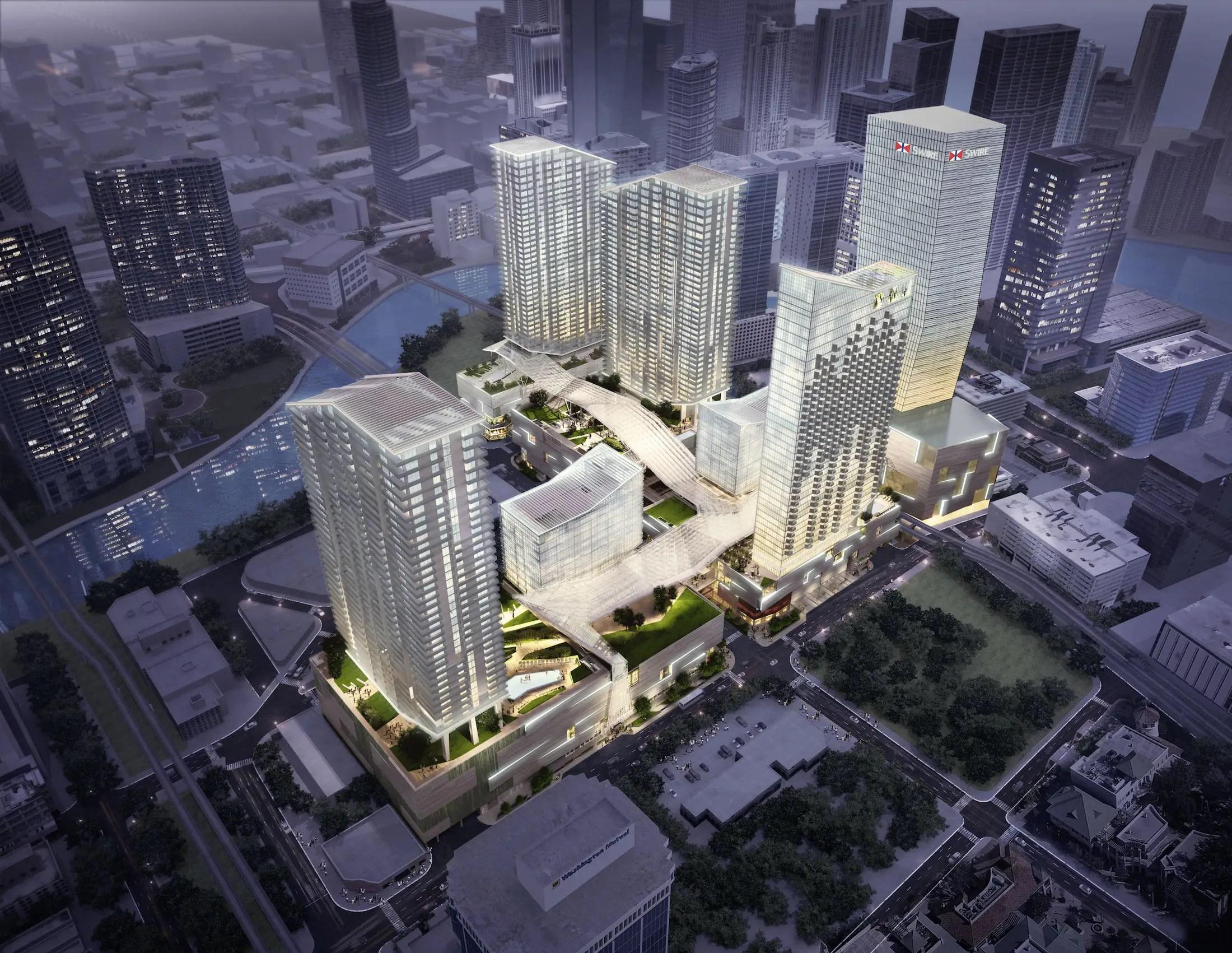 Brickell City Centre in Miami, Florida.
