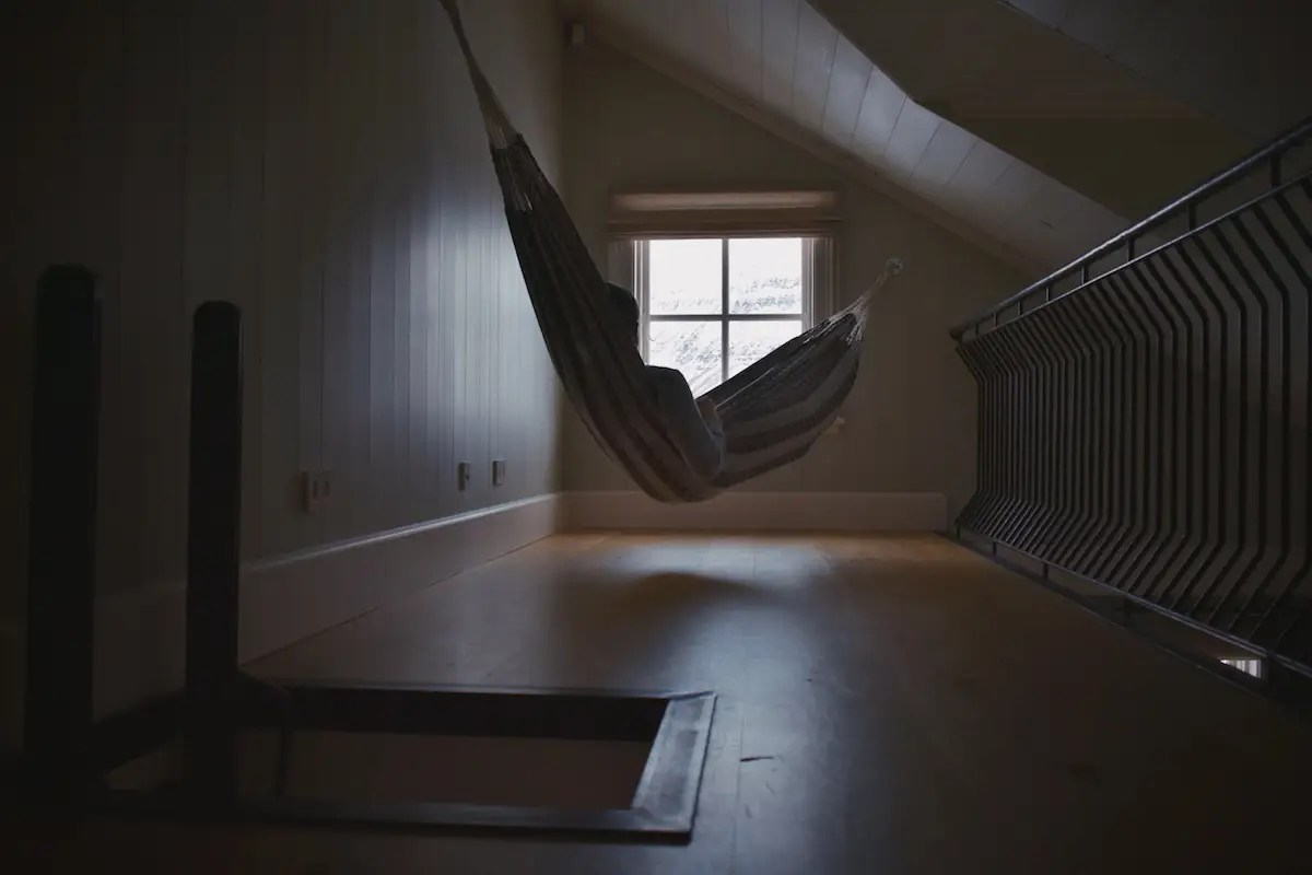 """There are fun and thoughtful touches throughout the property — my room having a hammock being one,"" Morrow said."