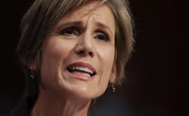 Sally Yates Ted Cruz Spar Over Trump Travel Ban