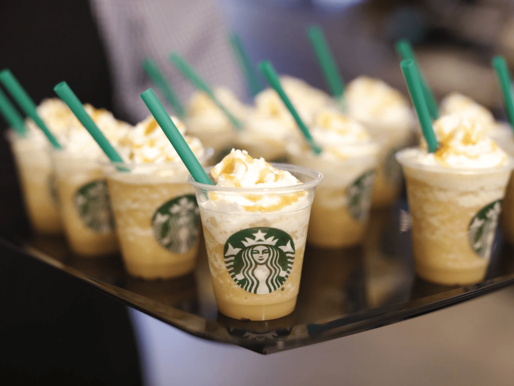 It's also added Starbucks kiosks to six of its stores, and another is on its way.
