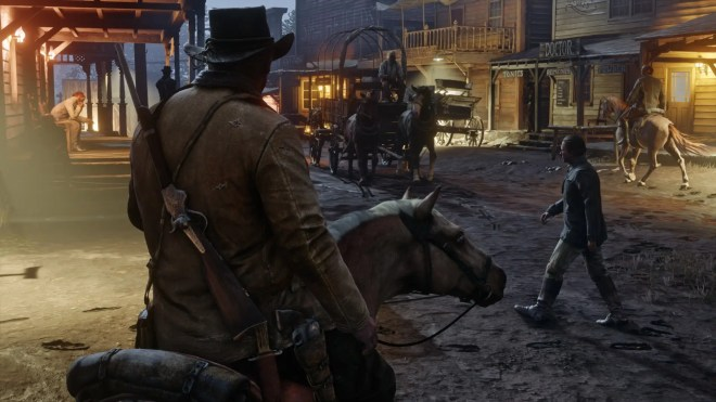 there are also towns to explore and people to meet - جديد لعبة Red Dead Redemption II 2018