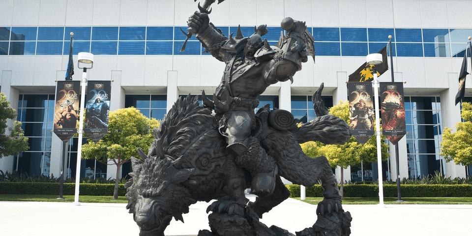 Starbucks At Blizzard Entertainment Serves Exclusive