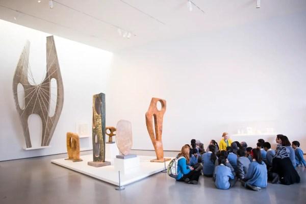 Tate Modern Art Museum Inside