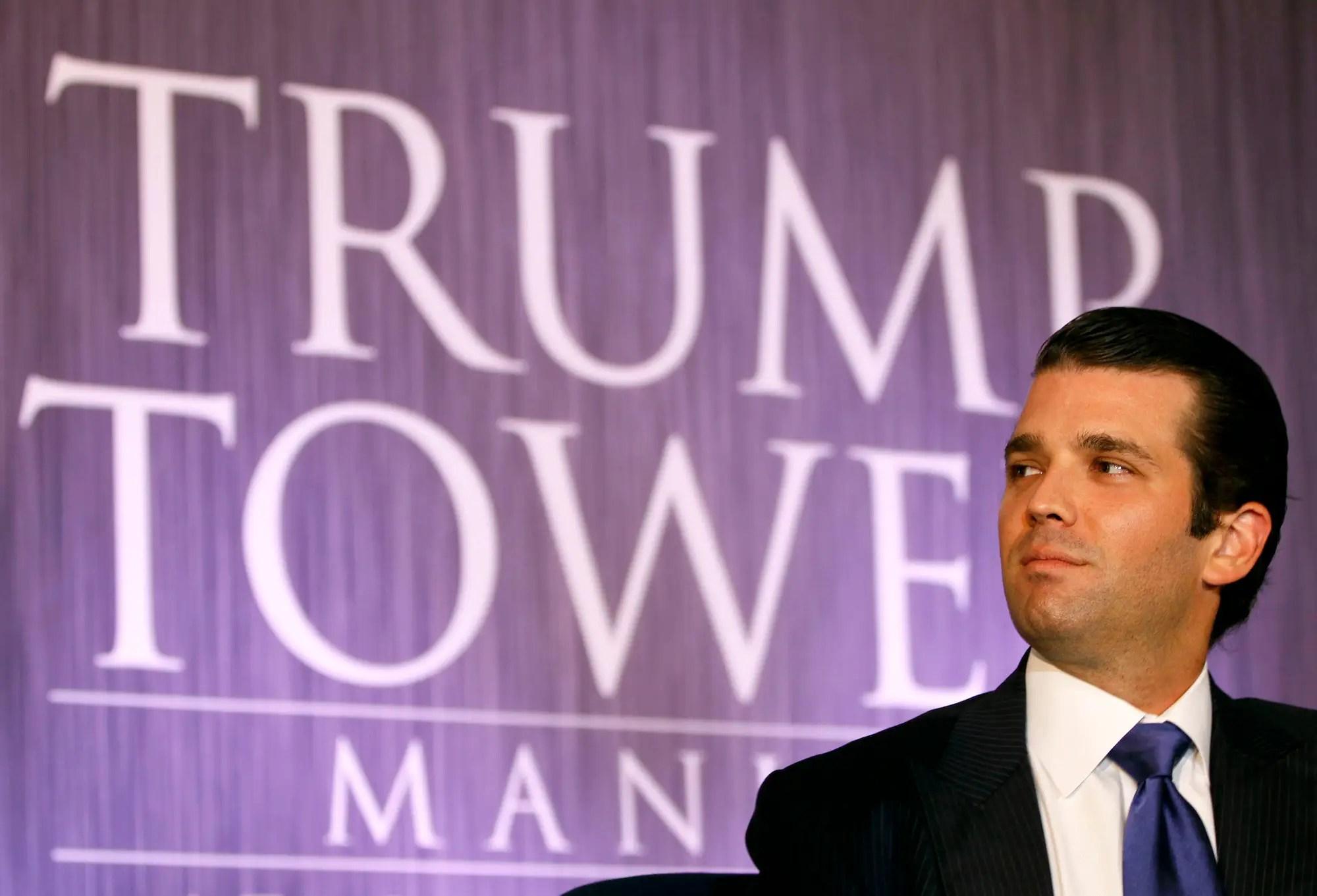 donald trump jr trump tower