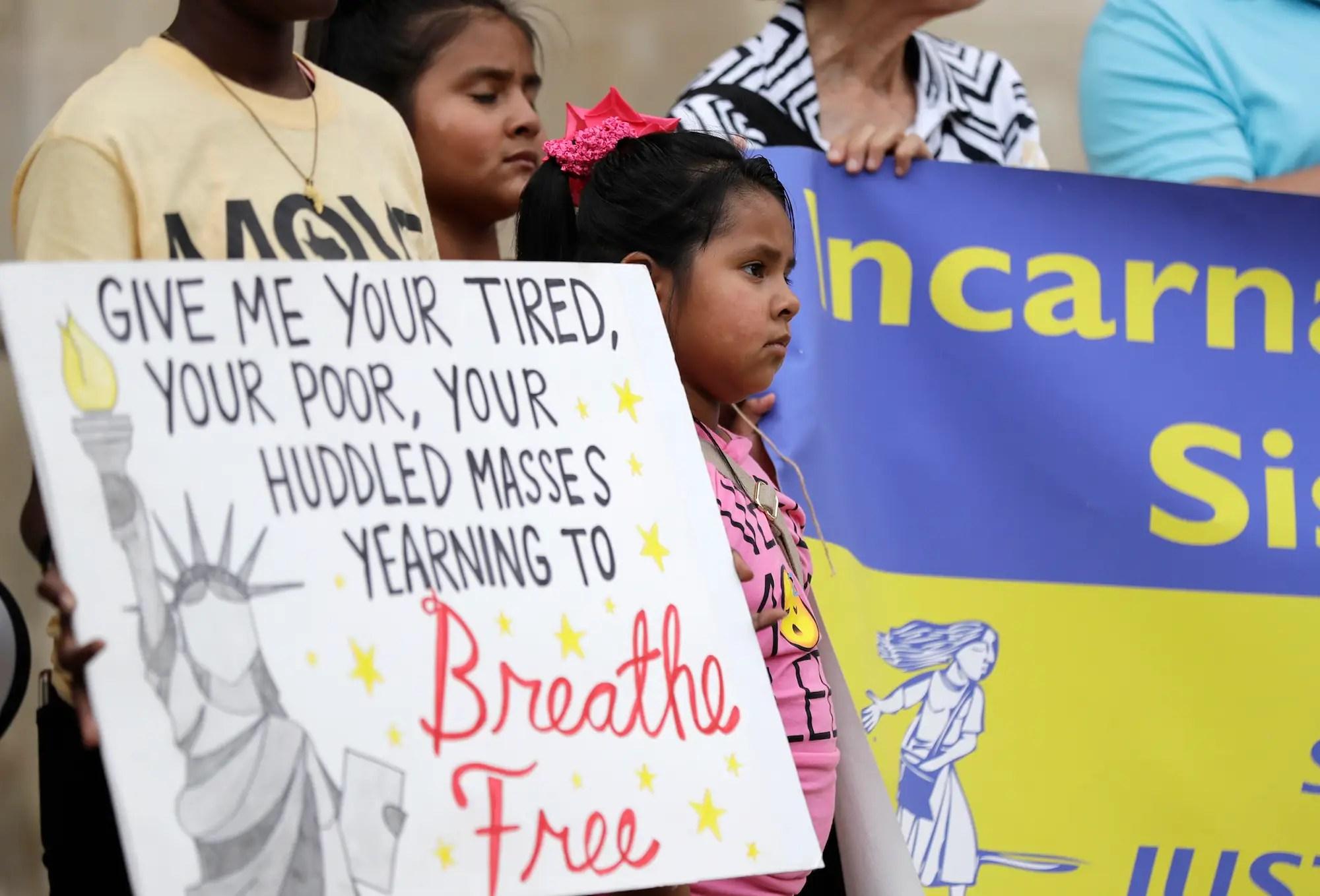 immigration protest texas san antonio