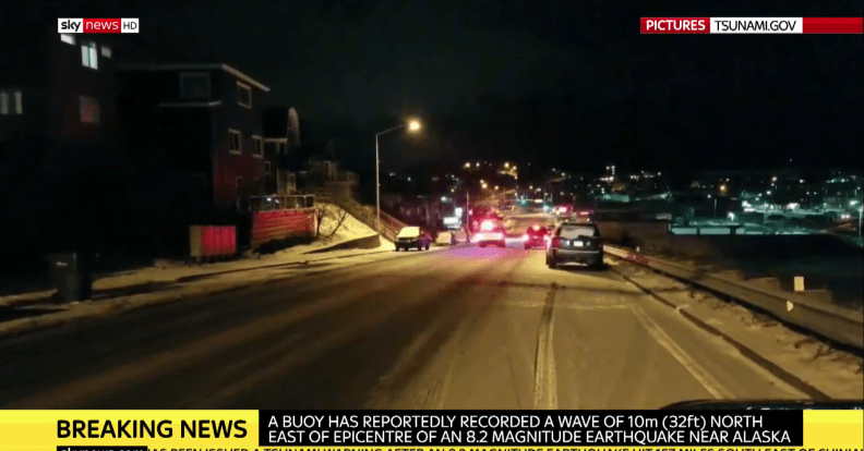 Sky News Alaska evacuation