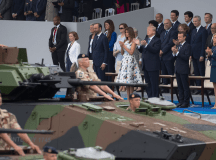 Here's what military parades look like around the world ...