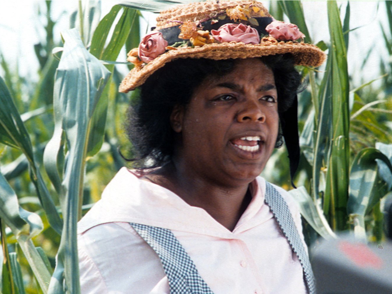 "Winfrey's acting career began in 1985, when she appeared in ""The Color Purple."" She was nominated for an Academy Award for Best Supporting Actress."