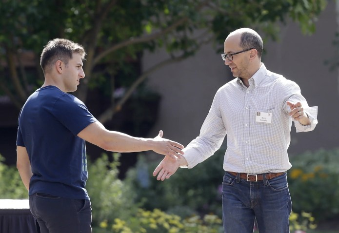 Brian Chesky Dick Costolo Sun Valley