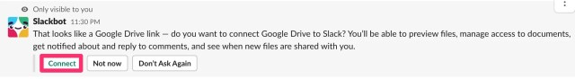 How to use Google Drive with Slack
