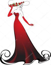 ᐈ Ladies clip art stock illustrations Royalty Free lady vectors download on Depositphotos®
