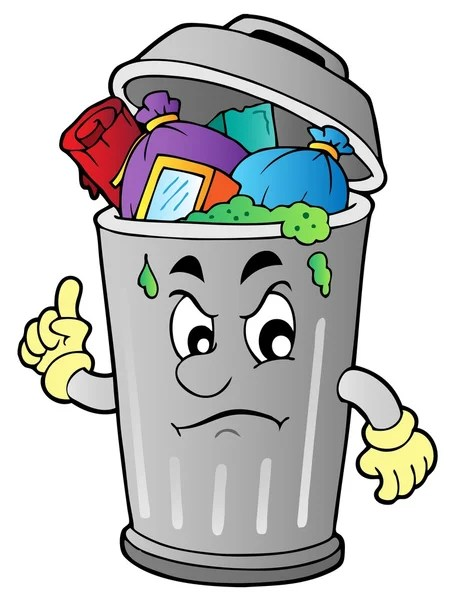 Gambar Sampah Kartun : gambar, sampah, kartun, Trash, Stock, Illustrations,, Royalty, Vectors, Download, Depositphotos®