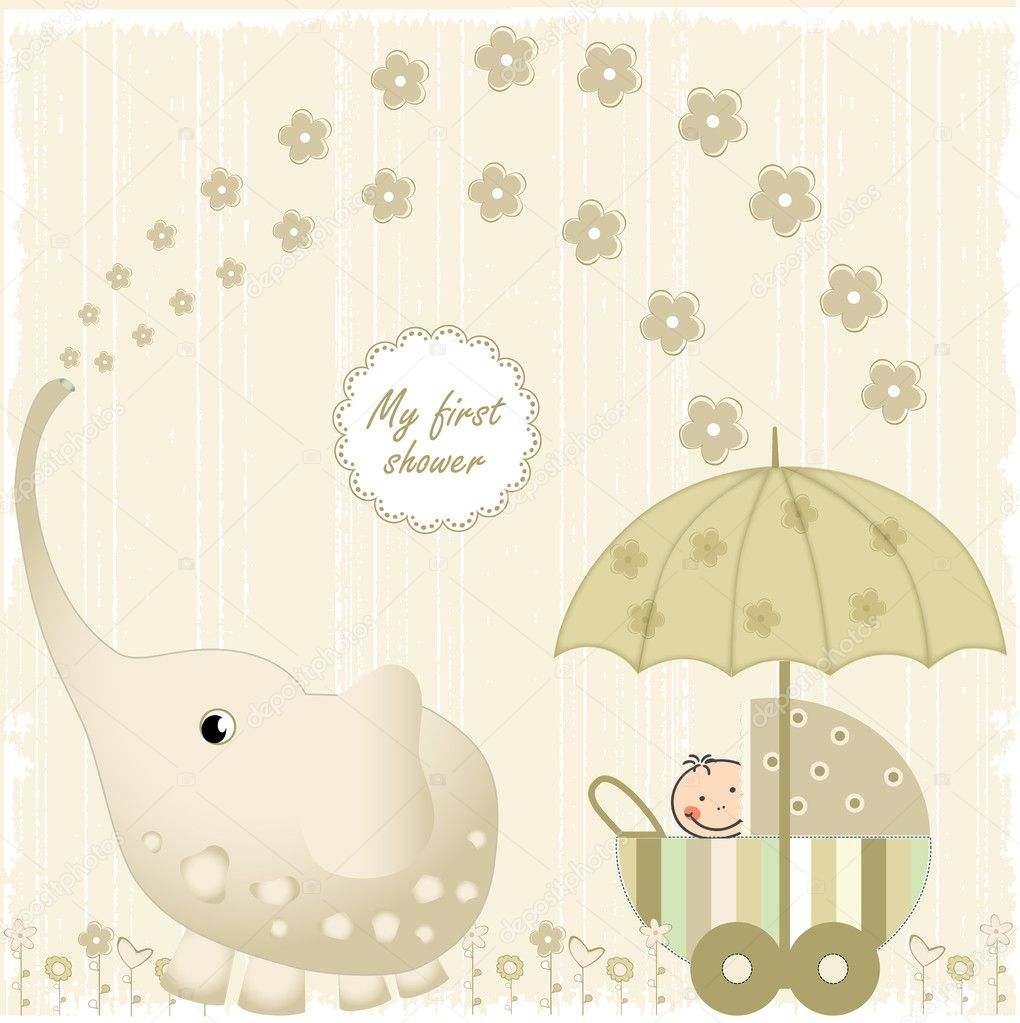 First baby shower — Stock Photo © ClaudiaBalasoiu #5561218