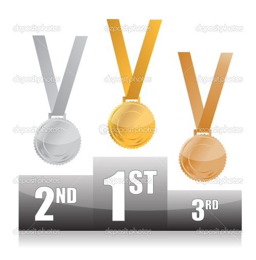 small resolution of  olympic medal podium clip art podium with gold silver and bronze medals