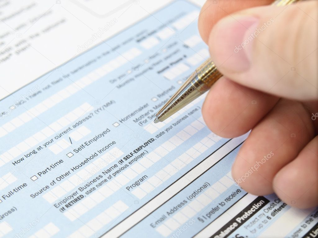 Filling Out Application Form
