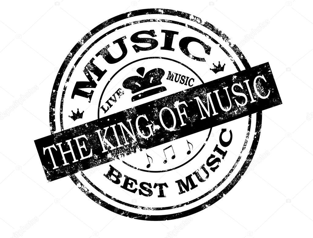 Best music stamp — Stock Vector © carmen_dorin #5650103