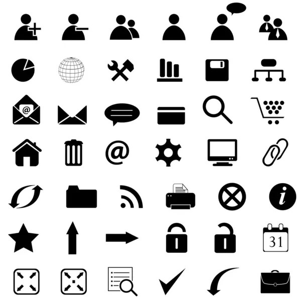 Several business icons — Stock Photo © soleilc #6074653