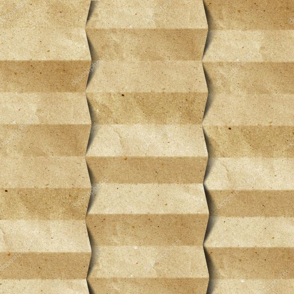 Grunge Recycled Folded Paper Craft Background Stock