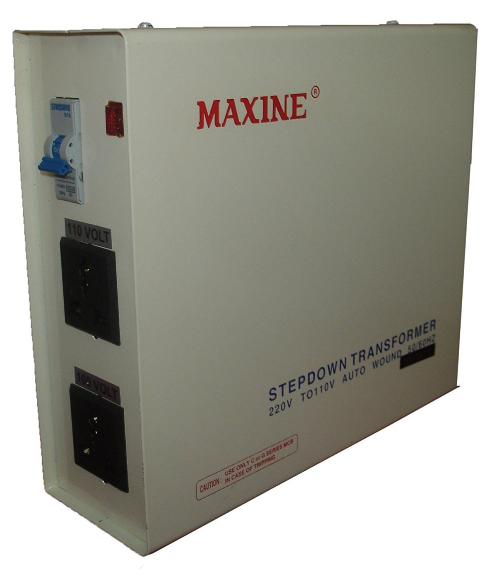 medium resolution of buy maxine 1500 watt metal 220v to 110 v step down auto wound voltage converter online in india at best prices