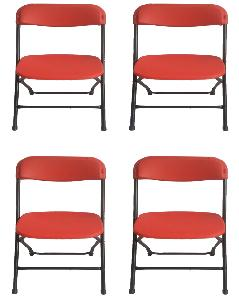 folding chair india yard buy supreme amity red online in at best prices