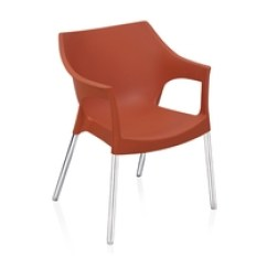 Plastic Chairs With Stainless Steel Legs Swivel Chair Next Buy Nilkamal Novella Bright Red 10 Flocnovlawaoc10red Online In India At Best Prices