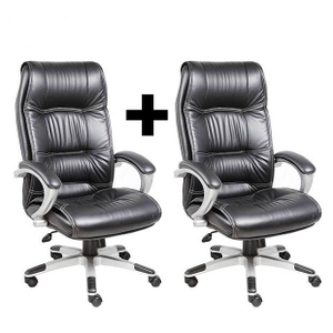 office chair price nailhead trim dining chairs buy divano modular two at of one dm1001 black online in india best prices