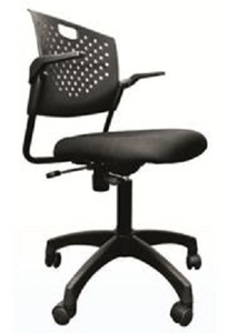 revolving chair gst rate modern wingback pottery barn buy torin cosmo elite black office online in india at best prices