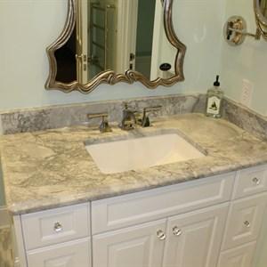 bathroom cape fear marble and tile