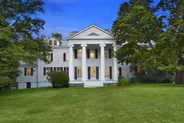 Christie Brinkley's 1843 water-front mansion in Sag Harbour, NY -- $16 million