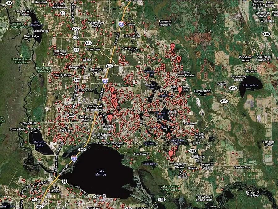 Deltona, Fla. -- 1 in 17 homes in foreclosure