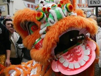 Chinese New Year Dragon London China Town