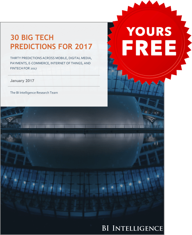 EXCLUSIVE FREE REPORT: 30 Big Tech Predictions for 2017