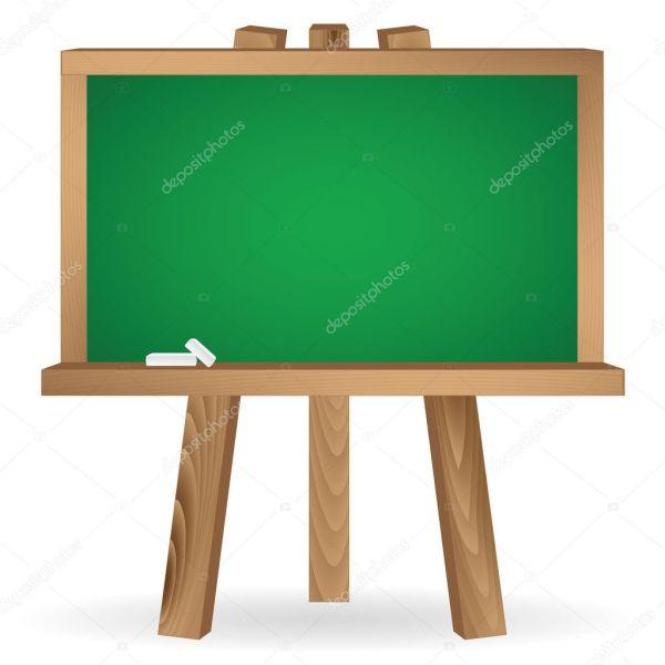 Green School Board Stock Vector Antkevyv #7111059