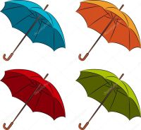 Umbrella with wallpaper design  Stock Photo  Forewer ...
