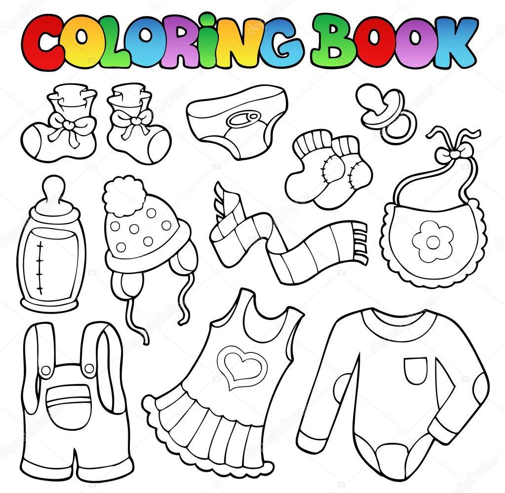 Malvorlagen Babykleidung Coloring and Malvorlagan